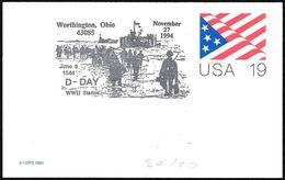 Stati Uniti/United States/États-Unis: Sbarco In Normandia, Landing In Normandy, Débarquement En Normandie - 2. Weltkrieg