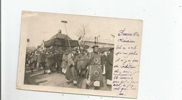 TIEN TSIN (CHINA CHINE) CARTE PHOTO FUNERAILLES 1931 (BELLE ANIMATION) - China
