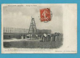 CPA Forage Du Puits VILLE-SAINT-JACQUES 77 - France