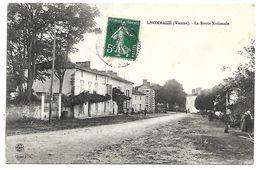 LHOMMAIZE - La Route Nationale - France