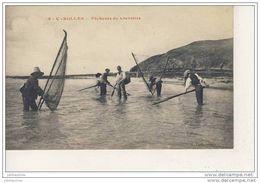 Carolles Pecheurs De Crevettes Cpa Bon état - France