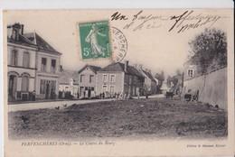 Carte 1910 PERVENCHERES / LE CENTRE DU BOURG - Pervencheres