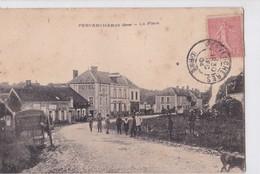 Carte 1904 PERVENCHERES / LA PLACE (belle Animation Hotel) - Pervencheres