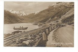 19366 -Oberalp-Passhöhe Blick Gegen Die Furka Barque - GR Grisons