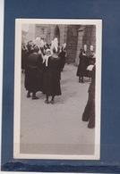 ILE TUDY  ( 29 )  PHOTO De La Sortie De L'église -  Le Pardon Au Pays BIGOUDEN  1938 - Lieux