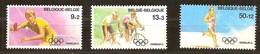 Belgie Belgique  1988 Yvertn° 2285-2287 *** MNH  Cote 13 Euro Sport Jeux Olympiques Séoul - Belgique