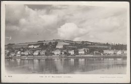 Tide In At Millbrook, Cornwall, 1956 - Ellis RP Postcard - England
