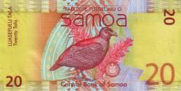 SAMOA P. 40a 20 T 2012 UNC - Samoa