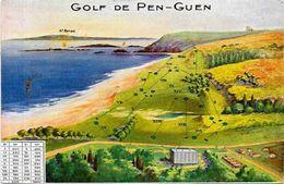 CPA Golf Sport Non Circulé Saint Cast Pen Guen Saint Briac - Golf
