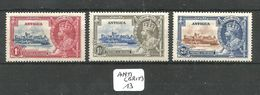 ANTI (BRIT) YT 74/76 * - 1858-1960 Kronenkolonie