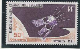 TAAF 1966 - YT PA N° 12 - 50 F. - Satellite Français D 1 - NEUF** TTB Etat - Airmail