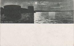 AK Sydney City Fort Denison Pinchgut Island Moonlight Clair De Lune New South Wales NSW Australia Australien Australie - Sydney