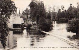 16 - LE PONTOUVRE  -LA DIGUE ET LES ECLUSES - France