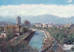 SANTIAGO DE CHILE - 1967 , Rio Mapocho - Chile