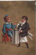 Chromo Publicitaire/Vêtements/Café & Cigare/Maison De La Belle Jardiniére/Rue Du Pont Neuf/PARIS/Vers 1880  IMA334 - Other