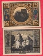 Allemagne 1 Notgeld 25 Pfenning  Stadt Lobeda UNC Lot N °69 - [ 3] 1918-1933 : Weimar Republic
