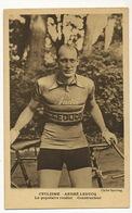 André Leducq Né à St Ouen 93 Routier Constructeur Pub Journal Sporting - Ciclismo