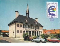 PERWEZ : L'hôtel De Ville - Belgique