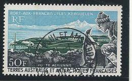 TAAF 1968 - YT PA N° 14 - 50 F. -  Port-aux-Français  -  Kerguelen  -  Oblitéré - TTB Etat - Airmail