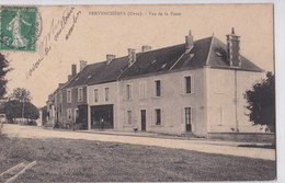 Carte 1910 PERVENCHERES / VUE DE LA POSTE - Pervencheres