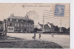 Carte 1930 SAINTE GAUBURGE / HOTEL DE LA GARE - France
