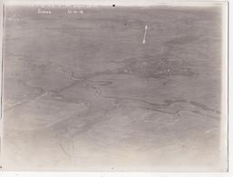 Photographie Originale Aérienne 18 X 24 Real Photography (77) SERVON 1916 Aviation Militaria Militaire - Guerre, Militaire
