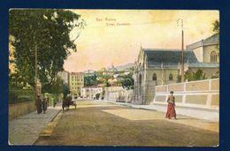 San Remo. Corso Felice Cavallotti. Quartiere San Martino. 1908 - San Remo