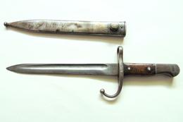 BAIONNETTE TURC POUR MAUSER 1935  AS FA ( ASKARI FABRIKAS ) RARE - Armes Blanches