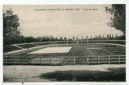 CPA  51  : REIMS   Le Collède D'athlètes 1928  Le Stade    A  VOIR   !!!!!! - Reims