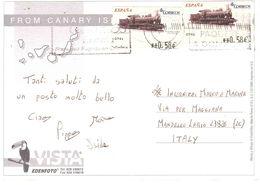 FUERTEVENTURA CART.X ITALIA - 1931-Oggi: 2. Rep. - ... Juan Carlos I