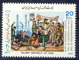 +D2681. Iran 1988. Uprising Qum. Michel 2246. MNH(**) - Iran