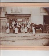 PONT D'AIN  ( AIN )  PHOTO MONTEE Sur CARTON De La Boucherie  ROY - Lieux