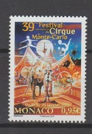 Monaco : Festival Du Cirque 2015 - Neufs ** - - Monaco