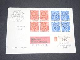 SUISSE - Enveloppe En Recommandé Chargé Exprès De Bern Pour Basel En 1964  - L 13356 - Covers & Documents