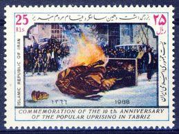 +D2684. Iran 1988. Uprising Täbriz. Michel 2263. MNH(**) - Irán