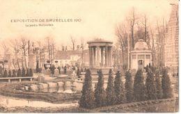 Bruxelles - CPA - Exposition De Bruxelles 1910 - Le Jardin Hollandais - Laeken