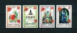 St. Lucía  Nº Yvert  676/9  En Nuevo - St.Lucia (1979-...)