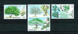 St. Lucía  Nº Yvert  640/3  En Nuevo - St.Lucia (1979-...)