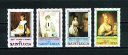 St. Lucía  Nº Yvert  559/62  En Nuevo - St.Lucia (1979-...)