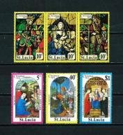 St. Lucía  Nº Yvert  372/7  En Nuevo - St.Lucia (1979-...)
