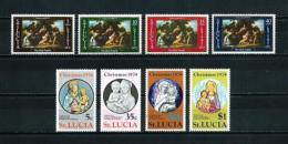 St. Lucía  Nº Yvert  322/5-362/5  En Nuevo - St.Lucia (1979-...)