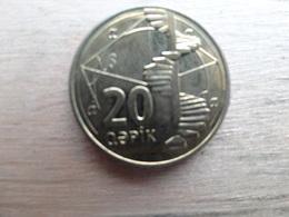 Azerbaidjan  20 Qapik 2006  Km 43 - Azerbaïdjan