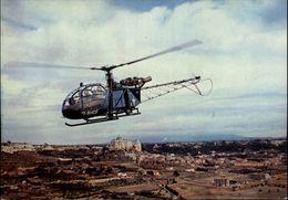 AVIATION - Aviation Militaire - Hélicoptère - Alouette II - Elicotteri