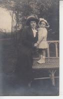 Mère Et Son Enfant - Carte Photo LAPINSKOFF Anvers Belqigue - A Identifier