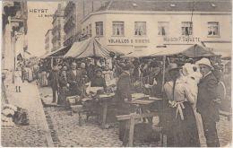 "28318g   MARCHE ""VOLAILLES & GIBIERS - ""MAISON P. SAVAETE"" - Heyst - 1912 - Animé - Heist"
