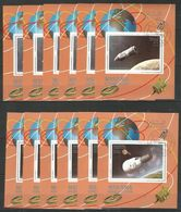 2x 6x MANAMA - Space - Spaceship - CTO - Espace