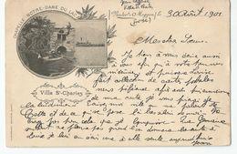 Suisse - Lucerne Villa St Charles Chapelle Notre Dame Du Lac Vorder Meggen 1901 - LU Lucerne