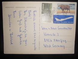 Afrique Du Sud , Swa Carte De Lughawe 1985 Pour Otterping - Afrique Du Sud (1961-...)