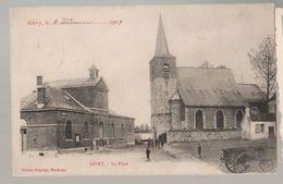 Cpa Givry  1909 - Quévy
