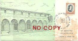Lastra A Signa, Firenze, 28.5.1974, Terza Mostra Filatelica, Loggia Del Brunelleschi. - Philatelic Exhibitions